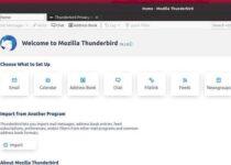 Thunderbird 78.5 lançado com mais melhorias no OpenPGP