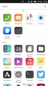 Ubuntu Touch OTA-14 lançado com atualizações de driver e suporte de hardware