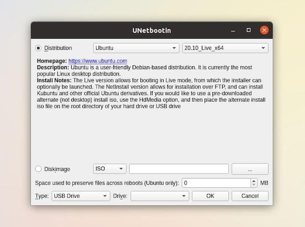 UNetbootin 700 lançado com suporte para Qt5 e muito mais