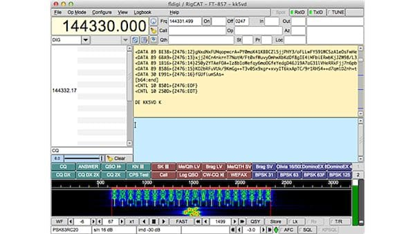 Como instalar o app de placa de som de rádio amador Fldigi no Linux