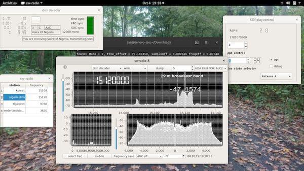 Como instalar o app de rádio swradio no Linux via AppImage