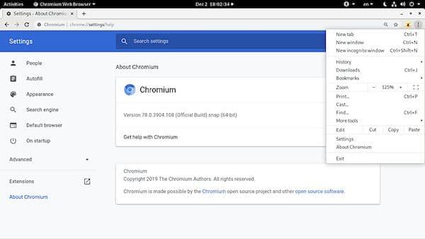 Como instalar o navegador ungoogled-chromium no Linux via AppImage