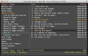 Como instalar o reprodutor Console music player no Linux via Flatpak