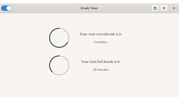 Como instalar o utilitário Break Timer no Linux via Flatpak
