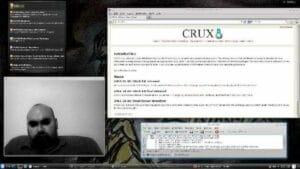 CRUX 3.6 lançado com suporte a UEFI e sem o LILO