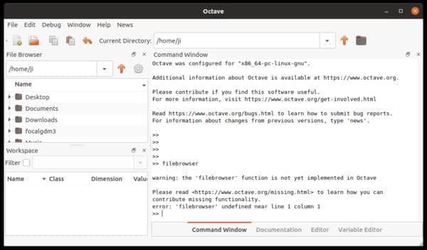 GNU Octave 6.1 lançado com melhorias e novas funções