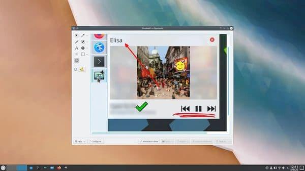 KDE Applications 20.12 lançado com a nova versão do Spectacle e muito mais