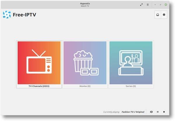 Linux Mint continua desenvolvendo Hypnotix como novo reprodutor de IPTV de código aberto
