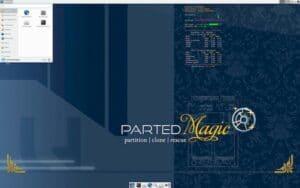 Parted Magic 2020_12_25 lançado com o ambiente Xfce 4.14 e mais