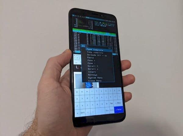 Sxmo 1.2.0 recebeu suporte para controles de gestos