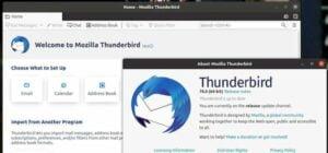 Thunderbird 78.6 lançado com melhora na implementação do OpenPGP e mais