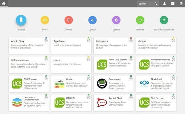 Univention Corporate Server 4.4-7 com melhorias de segurança