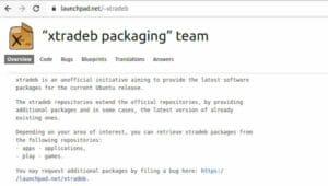 XtraDeb, Um excelente repositório PPA de aplicativos e jogos para Ubuntu