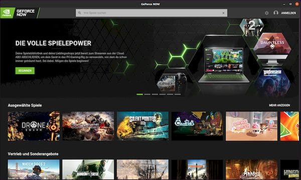 Como instalar o GeForce NOW Browser App no Linux via Snap