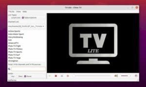 Como instalar o reprodutor de IPTV TV-Lite no Ubuntu e derivados