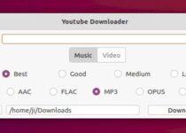 Como instalar o utilitário Youtubedl-gui no Ubuntu e derivados