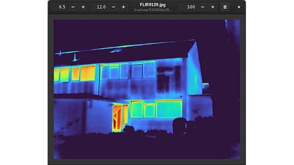 Como instalar o visualizador de imagens térmicas Blackbody no Linux