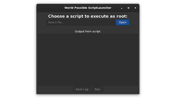 Como instalar o World Possible ScriptLauncher no Linux via Flatpak