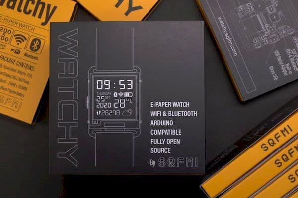 Conheça Watchy, um smartwatch de e-paper aberto e hackeável de 50 dólares