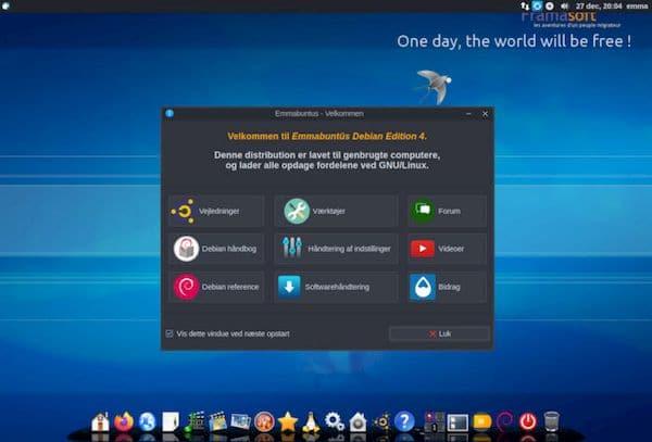 Emmabuntüs DE 4 Alpha lançado com Xfce 4.16 e mais