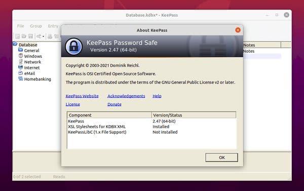 KeePass 2.47 lançado com novos recursos e melhorias e mais