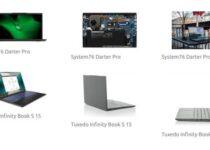 Laptop Linux com CPU Tiger Lake e tela de 15.6″? Conheça dois modelos