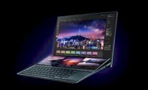Novos notebooks Asus ZenBook Duo são laptops de tela dupla