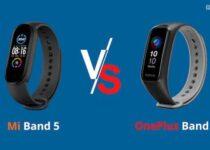 OnePlus Band vs Xiaomi Mi Band 5 – qual a melhor pulseira fitness?