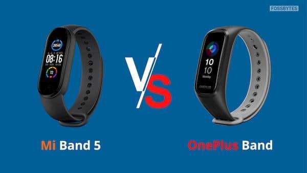 OnePlus Band vs Xiaomi Mi Band 5 - qual a melhor pulseira fitness?