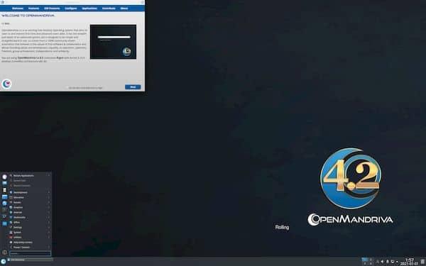 OpenMandriva Lx 4.2 RC lançado com kernel 5.10.3 e KDE Plasma 5.20.4
