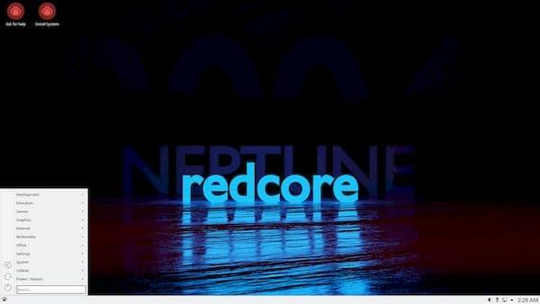 Redcore Linux 2101 Beta lançado com Kernel Linux 5.10.5 LTS e mais