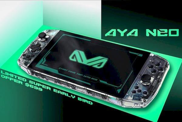 Adiada a campanha de financiamento coletivo do AYA Neo Ryzen 4500U