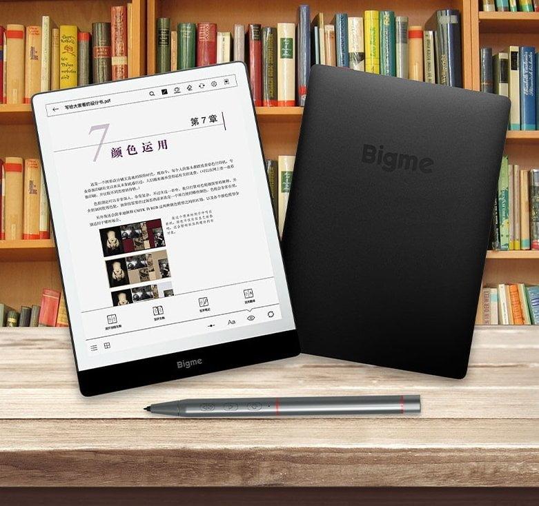 Bigme S3, o primeiro eReader com tela colorida E Ink de 7.8 polegadas