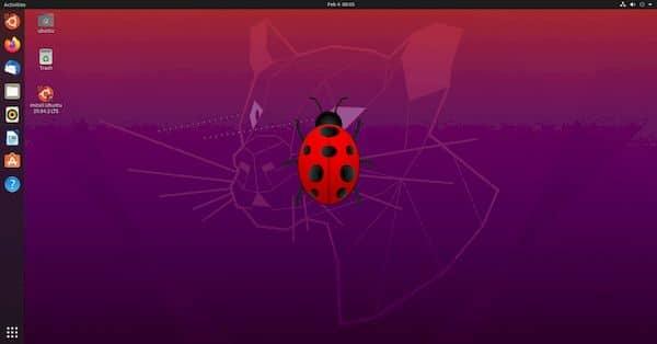 Canonical relançou as imagens do Ubuntu 20.04.2 devido a um bug