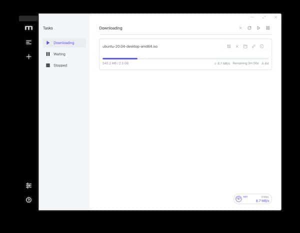 Cara menginstal manajer unduhan Motrix di Linux melalui Snap