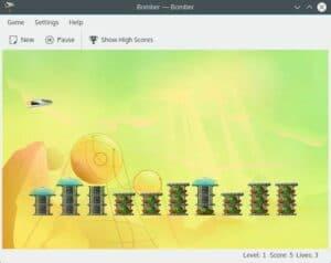 Como instalar o jogo arcade bomber no Linux via Flatpak