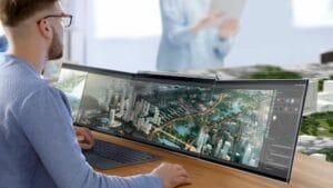 Conheça o Compal Airttach, um conceito de laptop com tela tripla removível