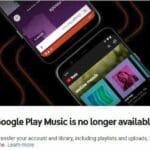 Google Play Music será encerrado em 24 de fevereiro de 2021! Ops...