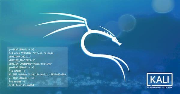 Kali Linux 2021.1 lançado com Xfce 4.16, kernel 5.10 LTS e novas ferramentas de hacking