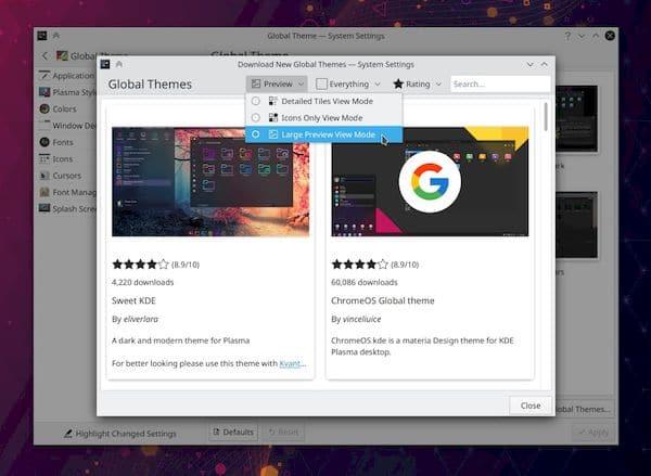 KDE Plasma 5.22 melhorará o suporte para jogos e apps em tela cheia