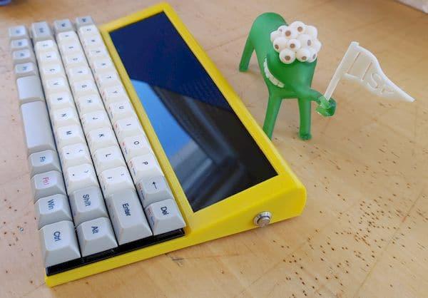 Lisperati1000, um computador de programação portátil DIY