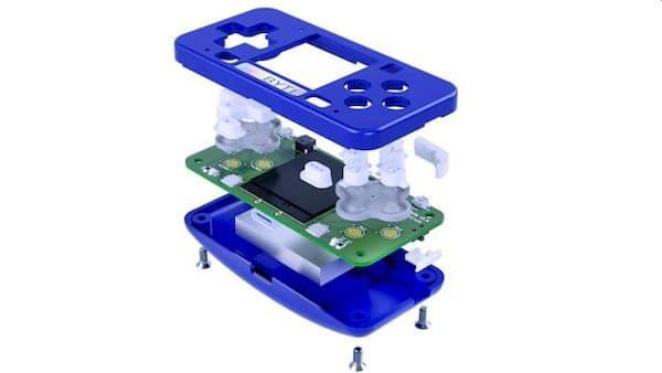 microByte, um minúsculo videogame portátil de hardware aberto