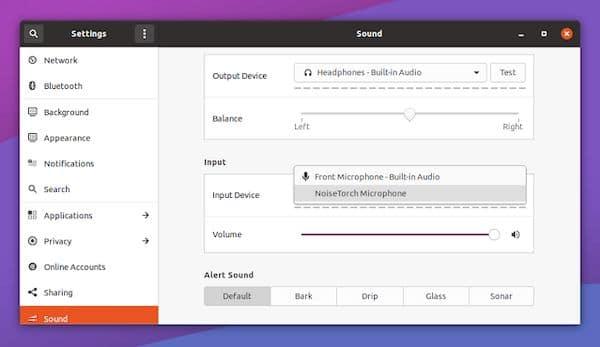 NoiseTorch, um app de supressão de ruído de microfone em tempo real para Linux