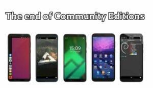 PINE64 não venderá mais PinePhone Community Edition