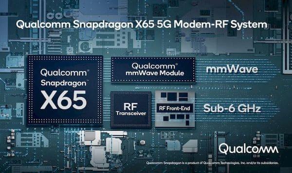 Qualcomm Snapdragon X65 é o primeiro modem 5G 10 Gigabit