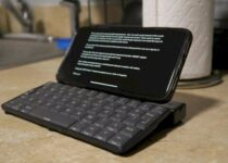 Hacker criou um Teclado DIY para smartphone com peças de PDA Psion 5
