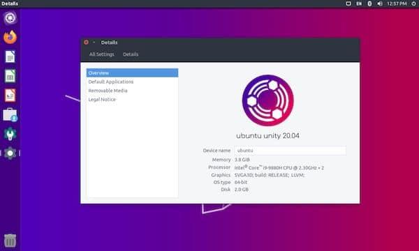 Ubuntu Unity Remix 20.04.2 lançado com GRUB2 e refinamentos de arte