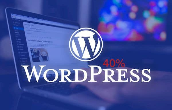 WordPress já está por trás de 40% dos sites do planeta