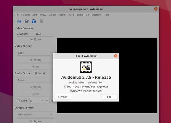 Avidemux 2.7.8 lançado com muitos novos recursos