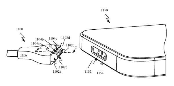 Carregamento MagSafe para iPhone apareceu em uma patente da Apple